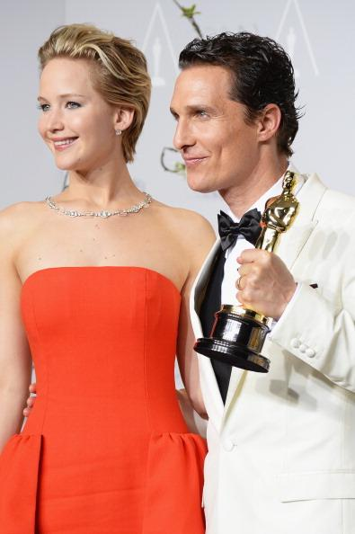 Jennifer Lawrence ve Matthew McConaughey