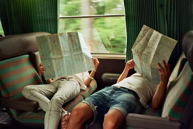 2-Bir arkadaşınızla birlikte interrail yapın.