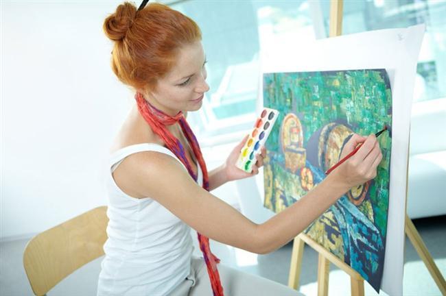 6-Resim kursuna gidin ya da bir enstürman çalmayı öğrenin.