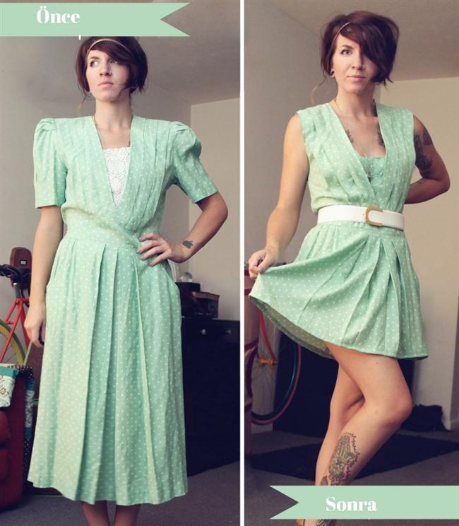 Eski kıyafetleri yenileme - 11
