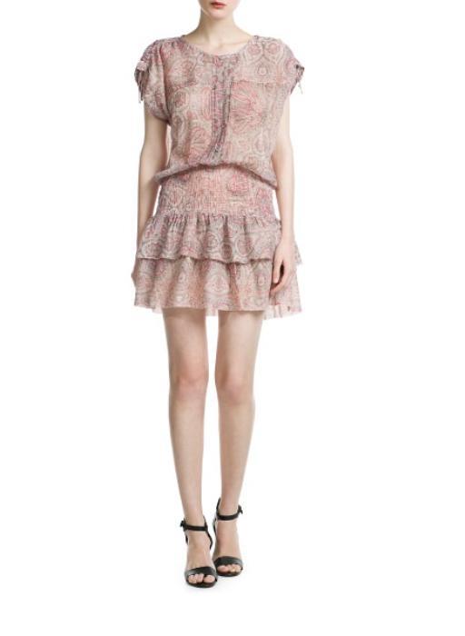 Eteği fırfırlı elbise: 89.99 TL