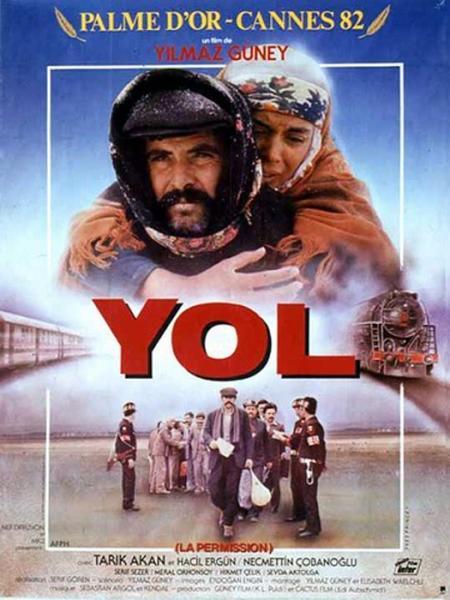 Yol  Tarık Akan ve usta oyuncu kadrosuna sahip olan 1982 yılı filmdir.  Filmde kısaca cezaevinden bir hafta izinli çıkan 5 mahkumun Türkiye'nin onlar içerdeyken değişen yeni toplum düzenine karşı yabancılaşması anlatılıyor. Bir haftalığına evlerine dönen bu beş mahkumun sevinci beş ayrı trajediye dönüşüyor. Bir tanesinin karısı bir gurur davası için ailesi tarafından ölüme mahkum edilmiştir. Bir tanesi köyünden genç bir kıza aşıktır ama abisi öldürülünce yengesiyle evlenmek zorunda kalıyor. Bir diğeri ise çocuğunu ve karısını göremiyor çünkü karısının ailesi buna engel oluyor. Sonuçta Güney, bu filminde 5 mahkumun sınırlı da olsa elde ettikleri özgürlüğün tadına varamamalarının trajedisi anlatıyor.