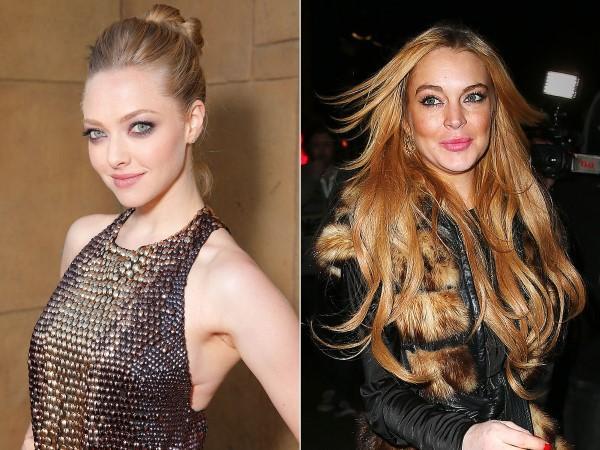Amanda Seyfried - Lindsay Lohan