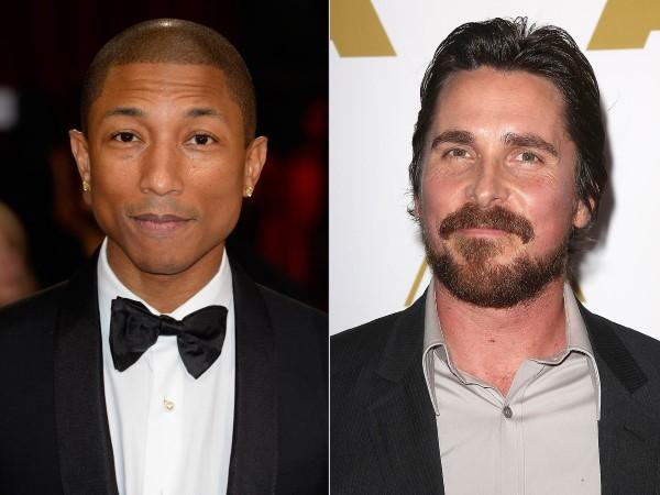 Pharrell Williams - Christian Bale