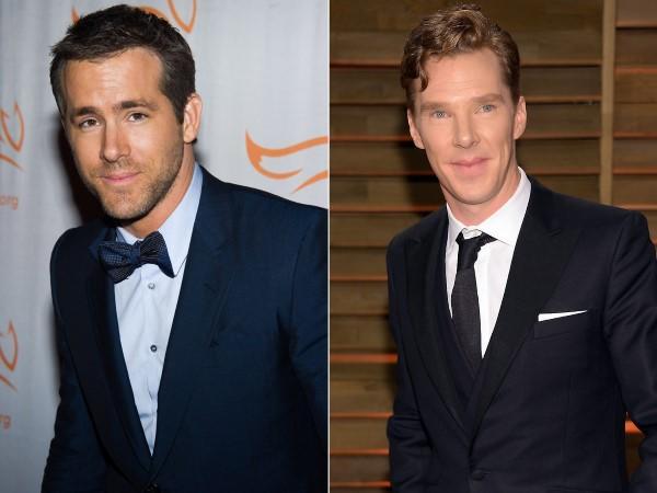 Ryan Reynolds - Benedict Cumberbatch