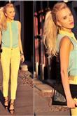 Modada sarı trendi - 9