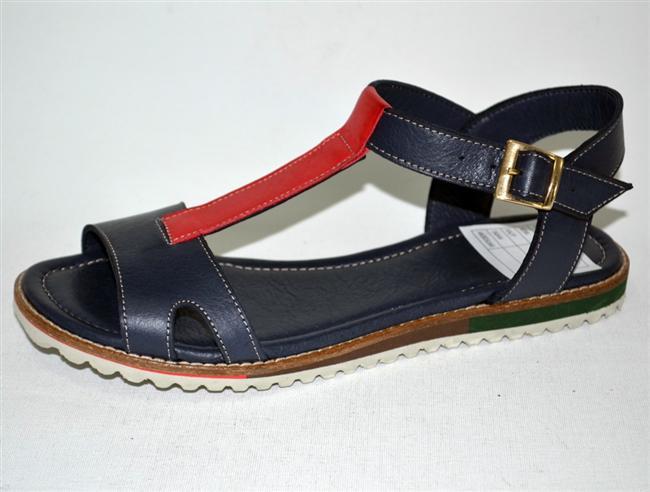 Lacivert sandalet: 70 TL