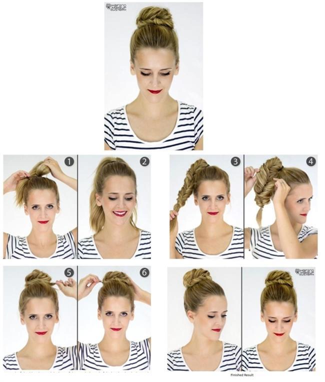 Kuaföre gidemediğiniz zamanlarda saçınıza kendiniz şekil verebilirsiniz. İşte kolaylıkla yapabileceğiniz saç modelleri ve yapılışları...