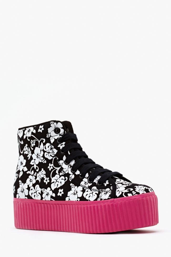 Sneakerlarda floral etki - 19