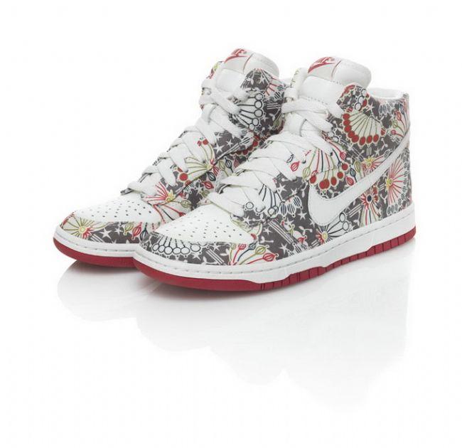 Sneakerlarda floral etki - 13