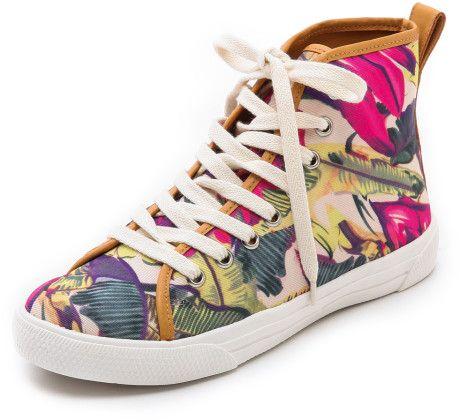 Sneakerlarda floral etki - 12