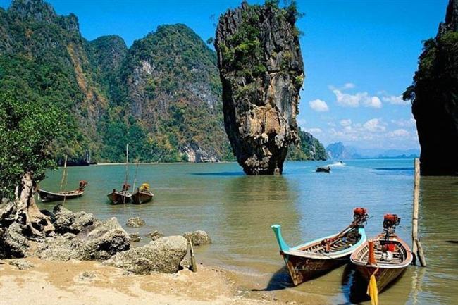 Tayland'daki Phang Nga Körfezi
