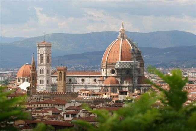 "İtalya'daki ""Villa San Michele""den Floransa"