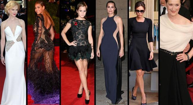 16'ncı sırada Nicole Kidman, 18'inci sırada Beyonce,19'uncu sırada Emma Watson, 21'inci sırada Stella McCartney, 22'nci sırada Victoria Beckham, 24'üncü sırada Meryl Streep giysileriyle en çok dikkat çeken kadınlar arasında yer aldı.