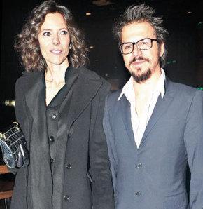 Katerina Mongio ve Mehmet Günsur'ün bir gece davetindeki görüntüsü...