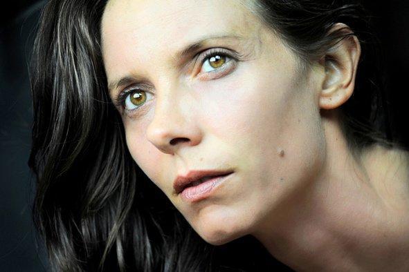 Katerina Mongio fotoğraf çekiminde