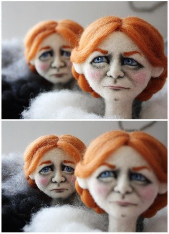 Beata Bródka isimli sanatçı keçe kullanarak portreler, karakterler ve neredeyse replika denebilecek insan figürleri yaratıyor. İşte Beata Bródka'nın keçe ile yarattığı muhteşem figürler!