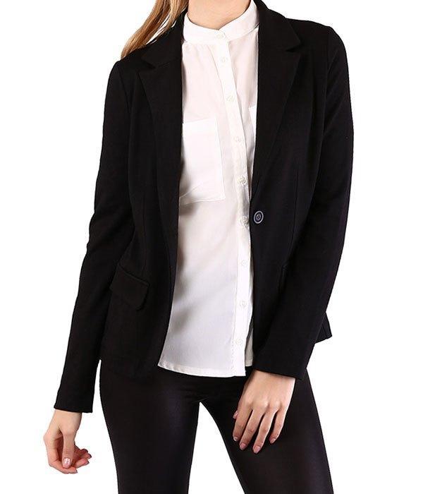 Siyah spor ceket