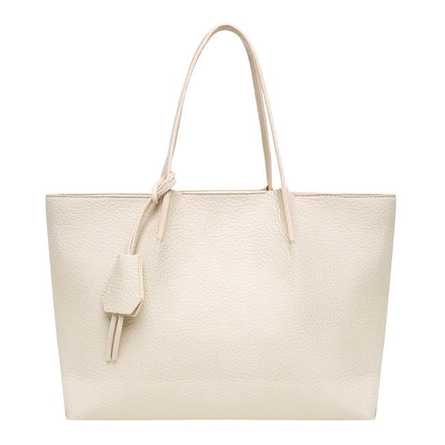 Beyaz omuz çantası