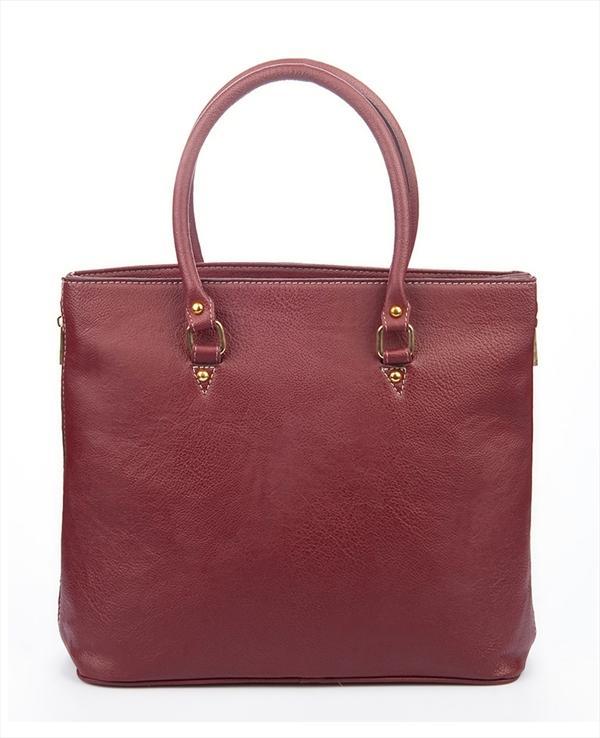 Bordo kalıp el çantası