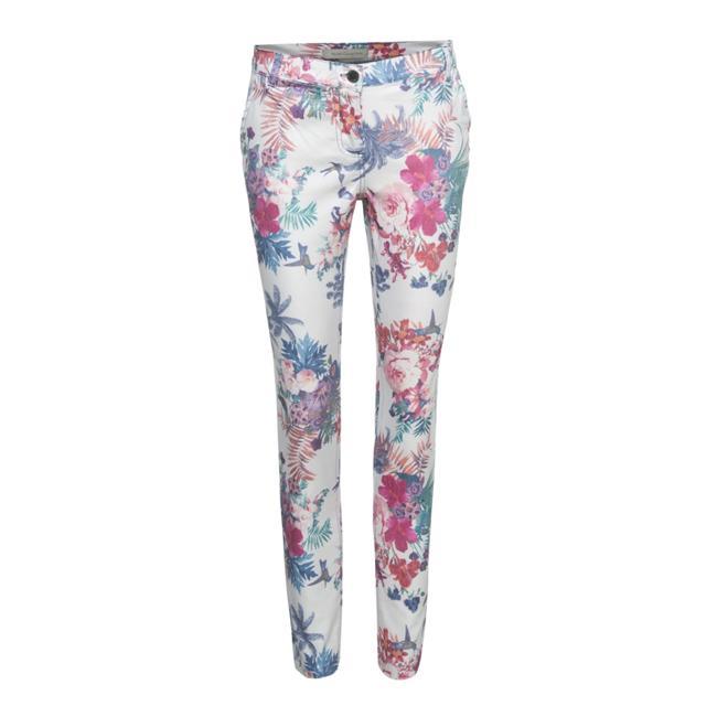 Floral pantolon