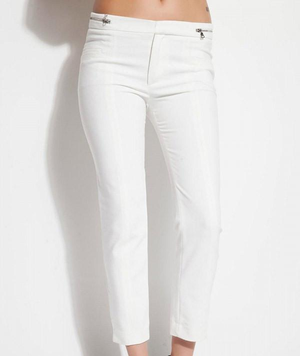 Fermuar detaylı skinny pantolon
