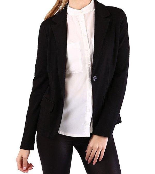 Şık siyah ceket