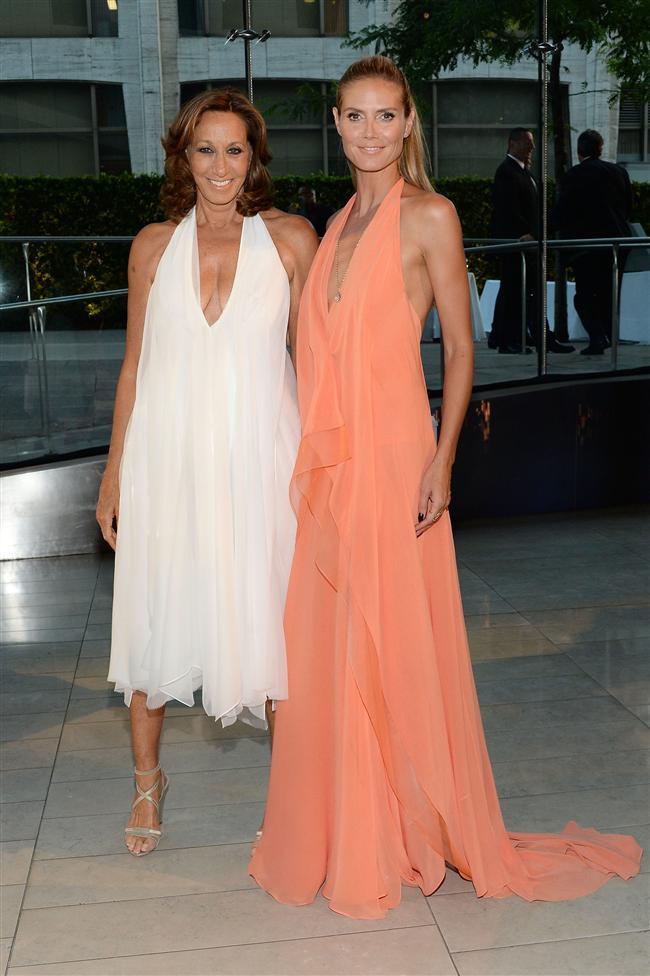 Donna Karan ve Heidi Klum