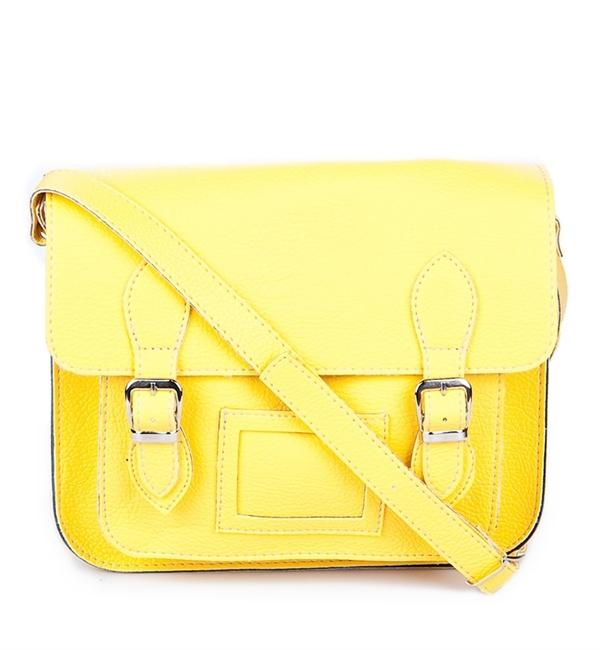 Sarı postacı çantası