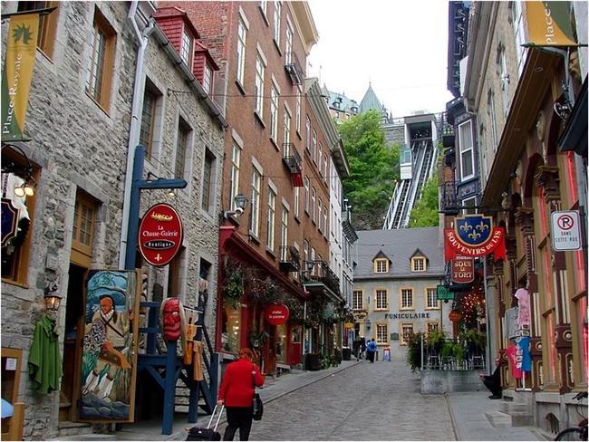 Eski Quebec Şehri - Kanada