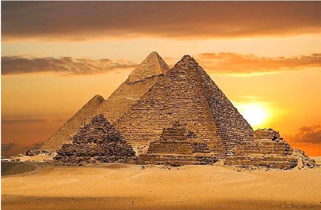 Giza Piramitleri - Mısır
