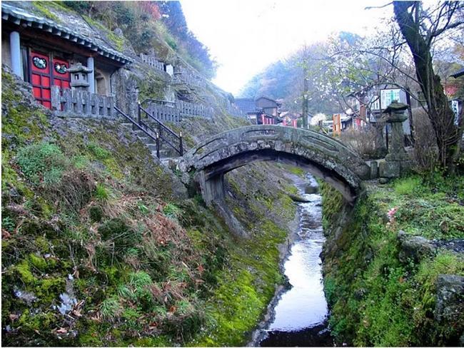 İwami Ginzan gümüş madeni - Japonya