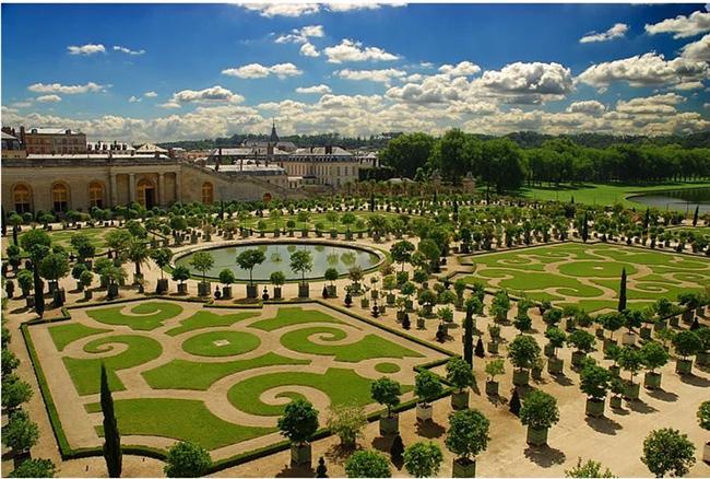Versailles Sarayı Bahçeleri - Fransa
