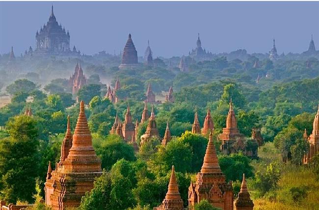 Bagan Şehri - Burma (Myanmar)