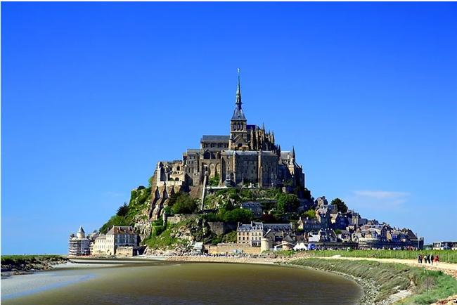 Mont Saint-Michel - Fransa