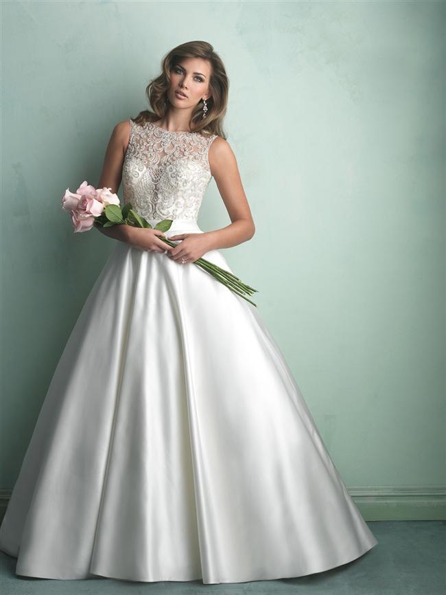 Allure Bridals 2014-2015 koleksiyonu şık ve göz alıcı. Allure Bridals gelinlikleri kaliteli kumaşlar ve zarif kadınsı detay içeren, modern ve klasik tasarımları ile bizlerin karşısında.