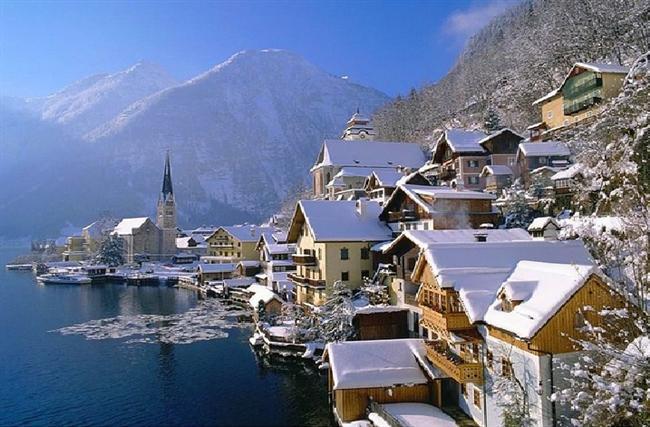 Hallstatt, Avusturya  Avusturya'nın en eski kasabalarından biri olan Hallstatt'ın tarihi m.ö. 5000 yılına kadar dayanmaktadır.