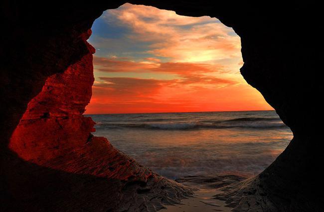 Prens Edward Adası'ndan okyanus manzarası