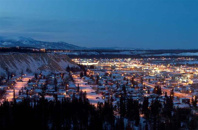 Yukon bölgesinin başkenti tarihi Whitehorse