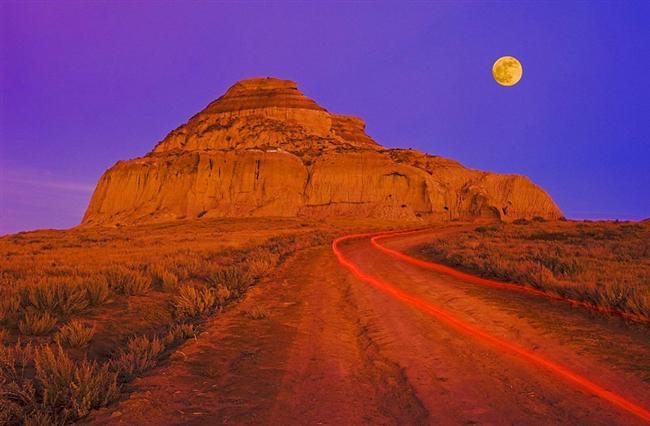 Büyük Çamur Kırgıbayırı, Saskatchewan