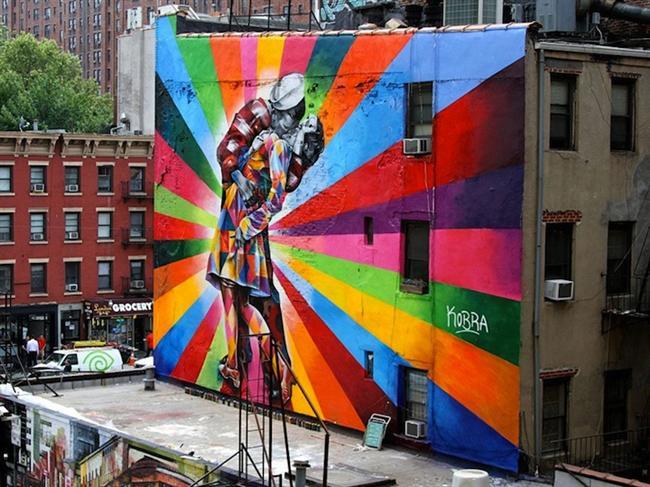 New York  Sokak sanatının en güzel örneklerini görmek için ziyaret etmeniz gereken 20 şehir…
