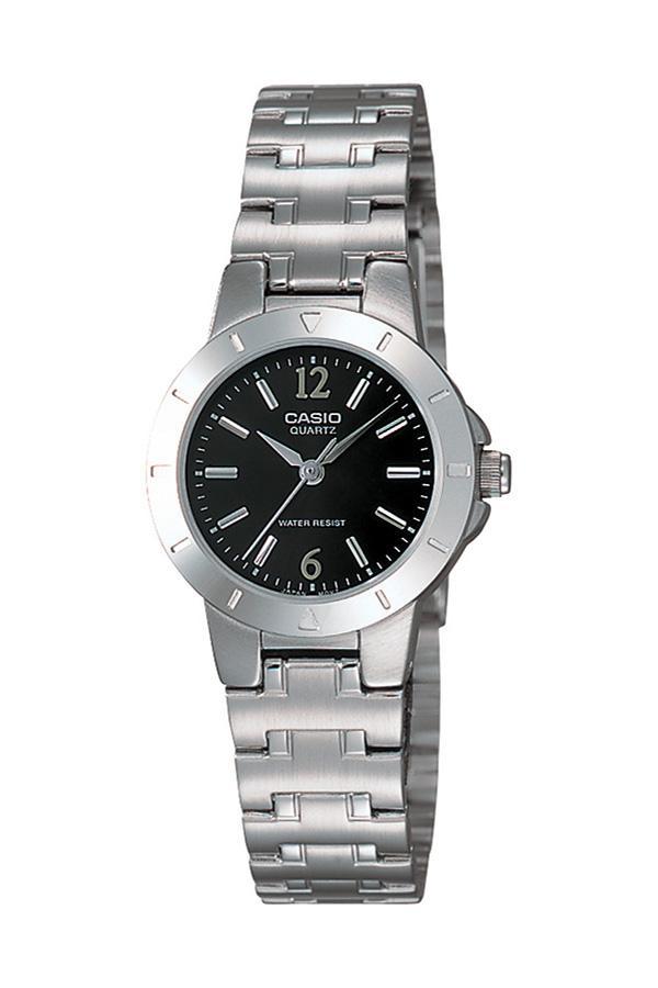 Mineral camlı çelik saat