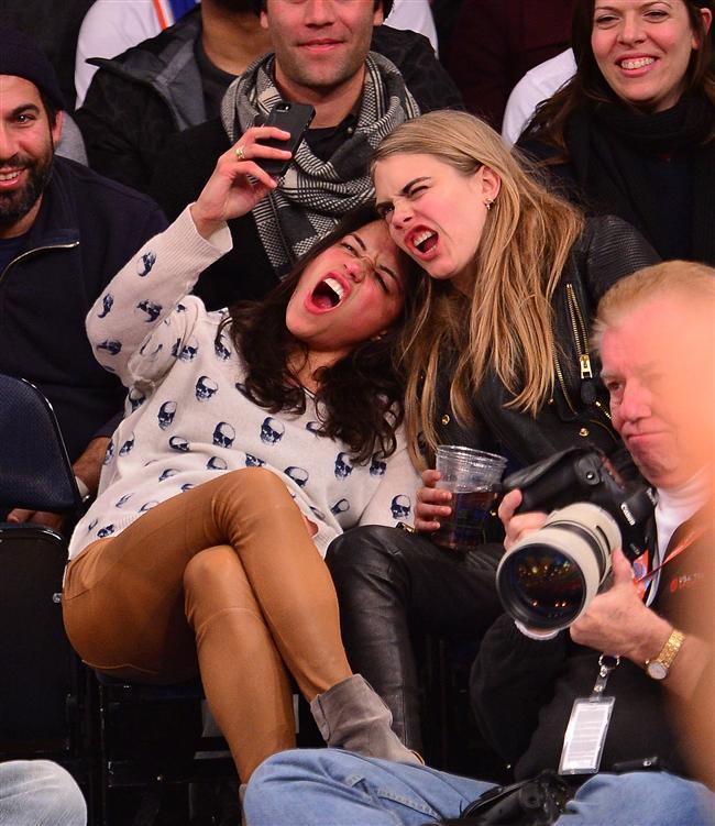 Michelle Rodriguez ve Cara Delevingne