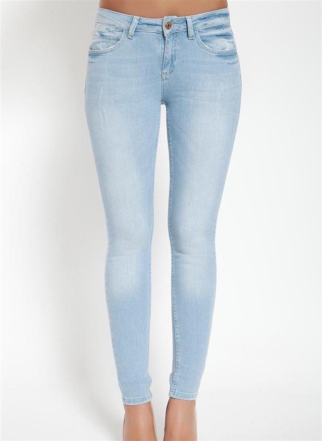 Mavi skinny pantolon