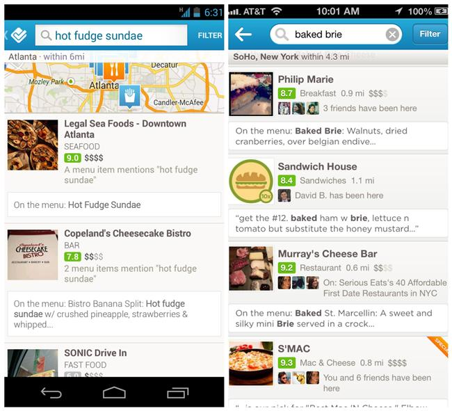 Gezilecek Mekanlar  Restoranlarda foursquare'e girip yazılan tip'lerden internet şifresini bulabilirsiniz. İnternet şifresi dışında ne yiyip içeceğinize karar veremiyorsanız yine tip'lerden faydalanabilirsiniz.
