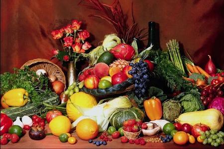 İşte meyve ve sebzelerin renklerinde gizli,  taklit edilemeyen doğal maddeler:
