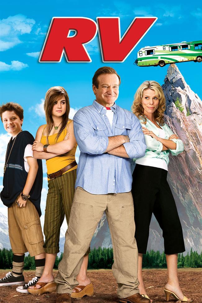 RV (2006)  Ailesiyle birlikte karavanlarıyla yaz tatiline çıkan ve başlarına komik olayların geldiği bir ailenin hikayesi.