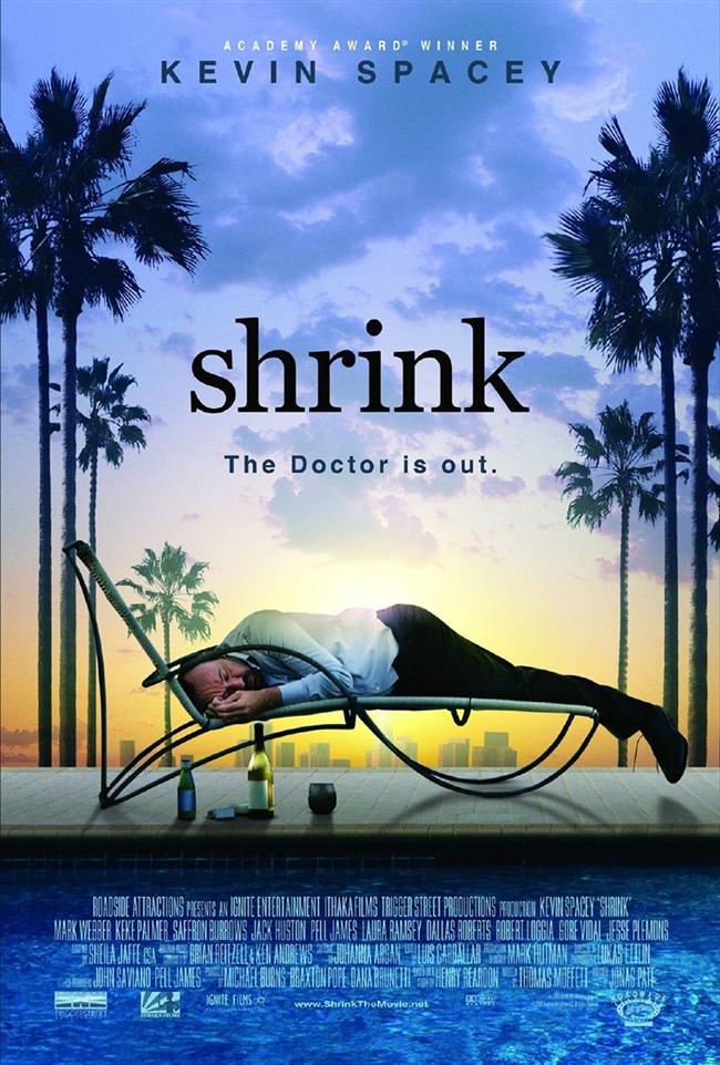 Shrink (Terapist-2009)  Ünlü bir psikayatr olan Henry Carter, başına gelen kişisel trajediyi aşamaz ve marihuana kullanmaya başlar. Gittikçe bağımlı haline gelen Henry, kendi görünümüne özen göstermez. Daha da kötüsü kendi mesleğine duyduğu inancı kaybetmektedir.