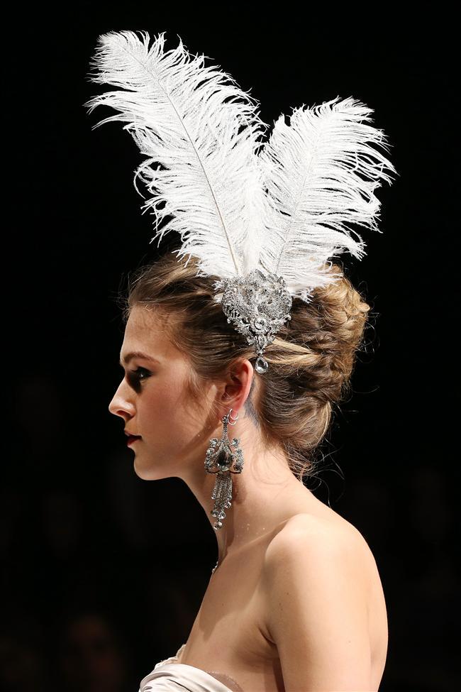 2014 Yeni Zelanda Moda Haftası Gelinlikleri - 11