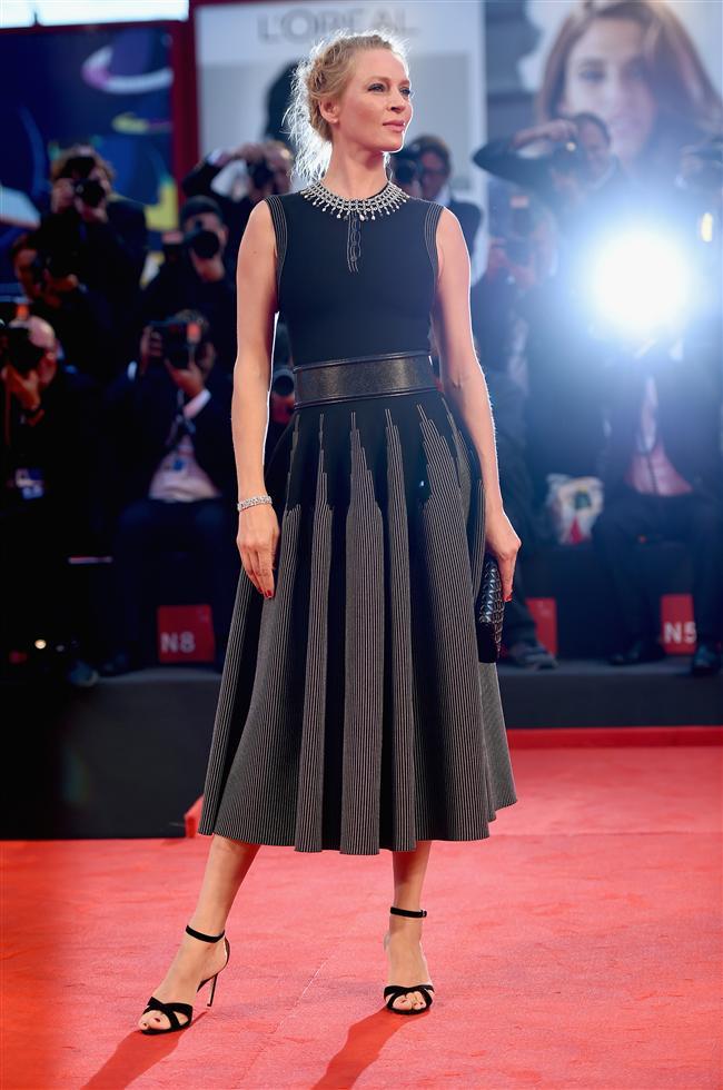 İtalya'da bu yıl 71'incisi düzenlenen Venedik Film Festivali'nde ödüller sahiplerini buldu...  Venedik kentinin Lido Yarımadası'nın ev sahipliği yaptığı dünyanın en eski sinema festivali ödül töreniyle sona erdi. İşte 71'inci Venedik Film Festivali'nde ödüllendirilen filmler şu şekilde;  Uma Thurman